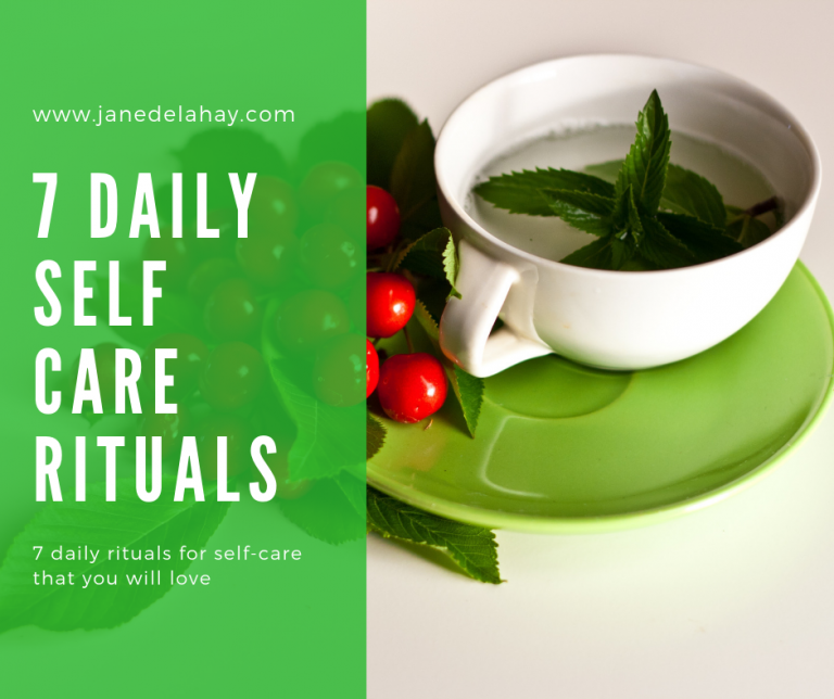7 daily rituals for self-care