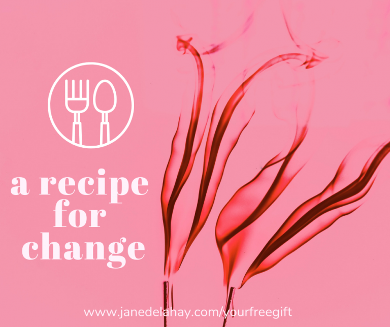 A recipe for change