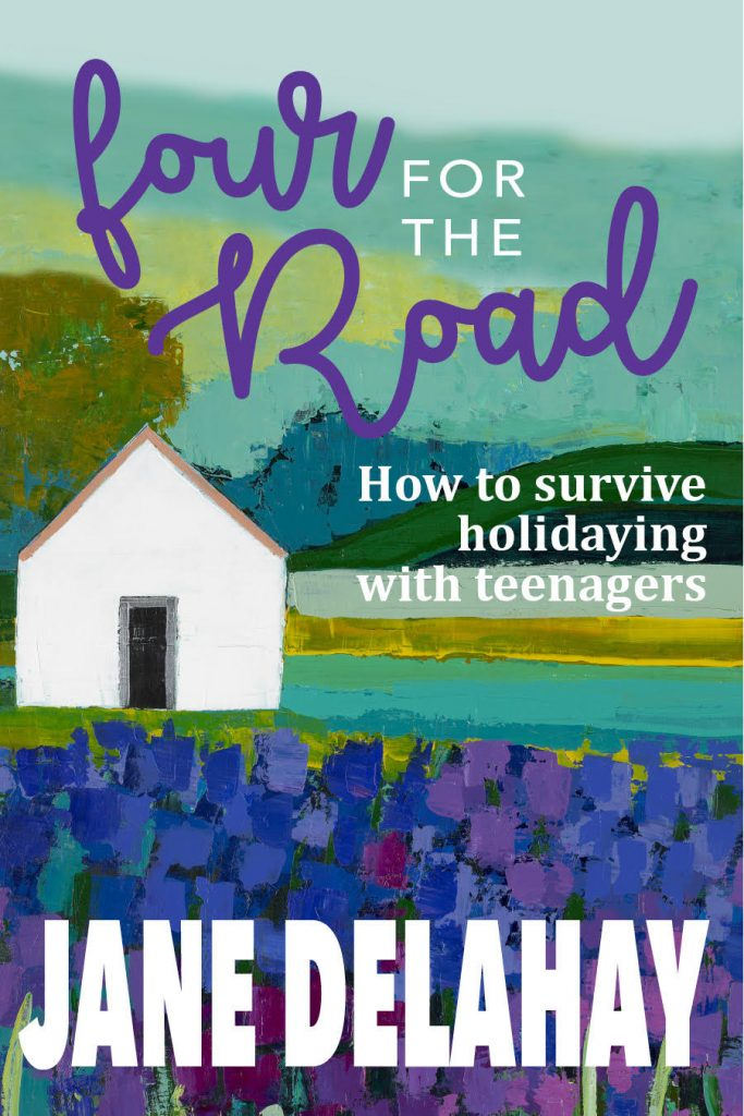 Four For The Road - Author Jane Delahay